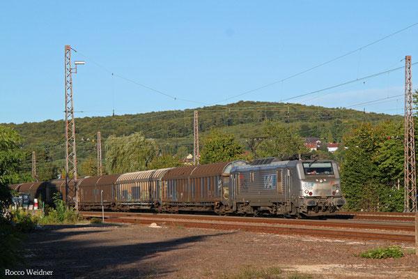 BB37025 mit DGS 69462 Neunkirchen(Saar) Hbf - Brake, Dudweiler 15.09.2015