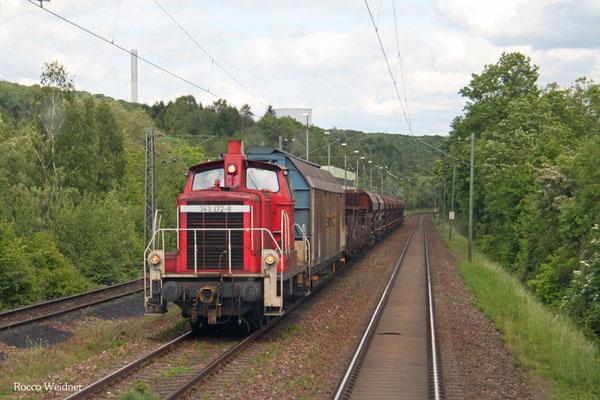 363 172 mit EK 55992 Homburg(Saar) Hbf - Neunkirchen(Saar) Hbf, Neunkirchen 19.05.2015