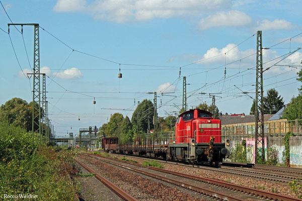 294 775 mit EK 55773 Mannheim Rbf Gr. D - Bruchsal,  Mannheim-Friedrichsfeld Süd 21.09.2015