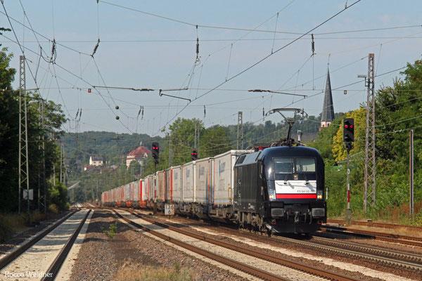 MRCE 182 535 (i.E.für TXL) mit DGS 43513 Bettembourg/L - München-Laim Rbf , Dudweiler 07.08.2015