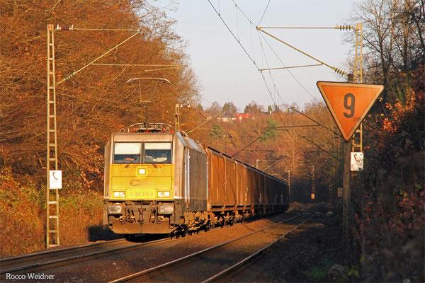 186 315 mit GA 44422 Einsiedlerhof - Forbach/F (Irun/E) (Sdl. Teile, Zubehör für Kfz), Saarbrücken 26.11.2015