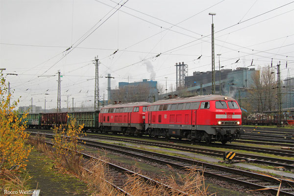 DT 225 805 + 225 073 mit EK 55970 Saarbrücken Rbf West - Völklingen, 12.11.2015