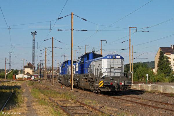 Europorte 92 80 4185 008-4 D-EPF und 92 80 4185 006-8 D-EPF am 01.07.2015 in Forbach/F