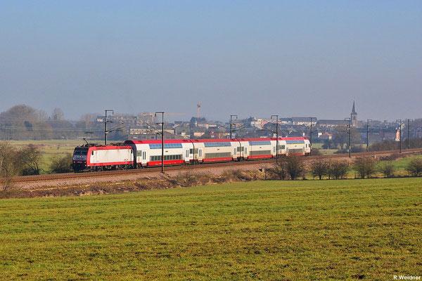 Regionalverkehr aus Luxembourg nach Rodange mit CFL 4006 am 31.01.14