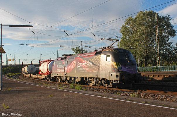 ÖBB 116 180 mit KT 42137 Lubdwigshafen BASF Ubf - Brennero/I (KV), Ludwigshafen/Rhein Hbf 02.06.2015