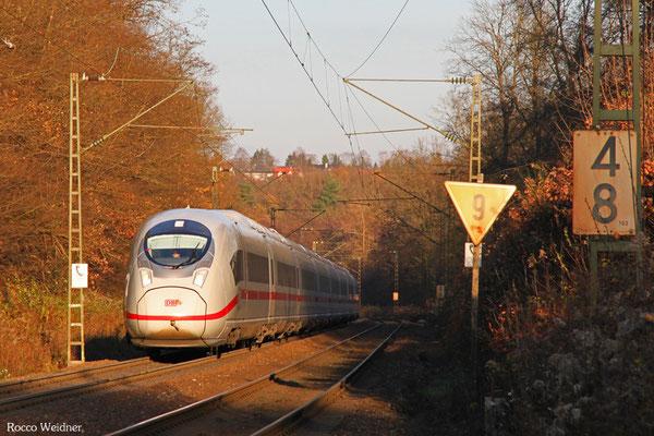 407 016 als ICE 9554 Frankfurt/Main Hbf - Paris Est, Saarbrücken 03.12.2015