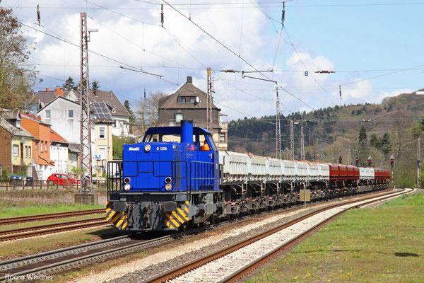 275 117 mit Schotter Sulzbach(Saar) - Saarbrücken Rbf (Sdl.), Dudweiler 15.04.2016