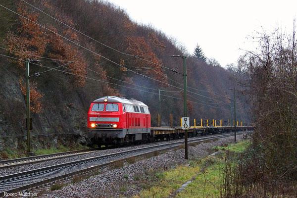 225 133 mit DGV 92568 Luisenthal(Saar) - Wanne-Eickel Hbf, Völklingen Heidstock 13.02.2016