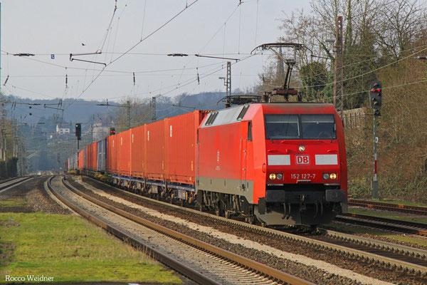 152 127 mit XP 49249 Cerbère/F - Einsiedlerhof, Dudweiler 18.02.2016