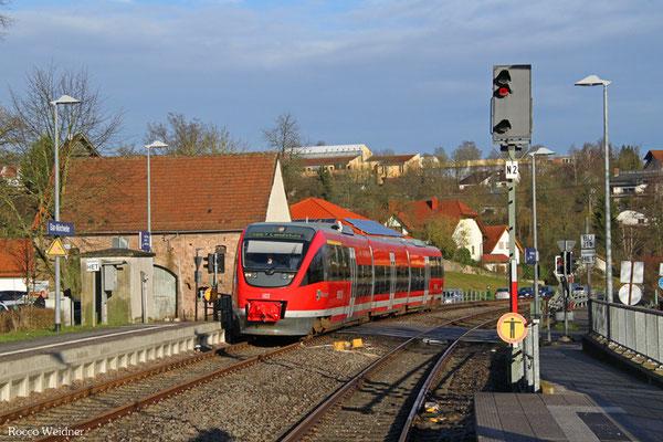 643 025 als RB 12869 Kusel - Landstuhl, Glan-Münchweiler 14.01.2016