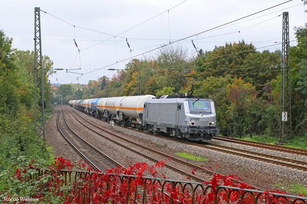 BB37050 mit DGS 88952 Ehrang Nord - Passau Grenze (Sdl.), Saarbrücken 15.10.2015