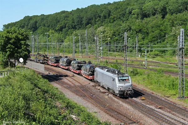BB37006 mit DGM 44420 (Jankowo Pomorskie/PL) Oderbrücke - Forbach/F (Sdl.Militär), Saarbrücken Rbf 04.06.2015