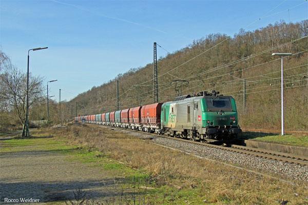 BB37009 mit DGS 44426 Dillingen Hochofen Hütte - Woippy/F, Luisenthal(Saar) 06.02.2016