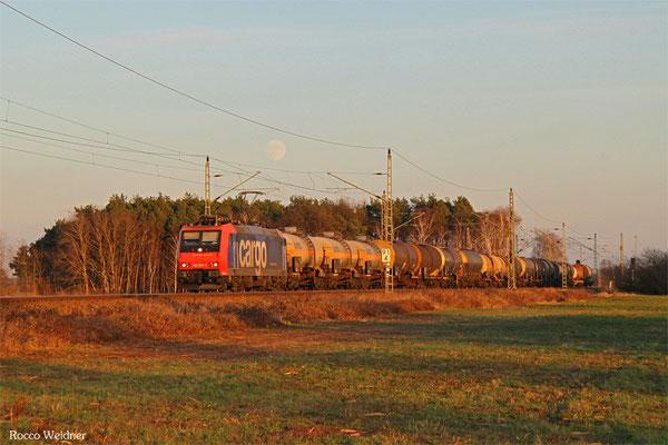 482 016 mit DGS 91298 Ruhland - Ludwigshafen/Rhein BASF Gbf, Rehfeld 23.12.2015