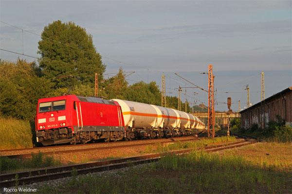 185 273 mit GC 98806 (Creutzwald) Forbach/F - Hüls AG (Sdl.Butadiene, ex. 44432), Bous(Saar) 07.06.2015