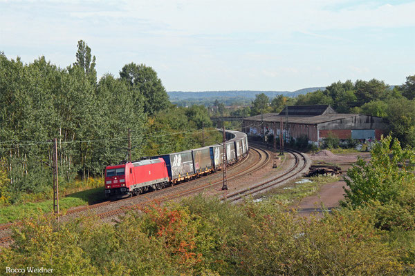 185 373 mit GA 52981 Saarbrücken Rbf Nord - Köln-Eifeltor Bez III, Bous 16.09.2015
