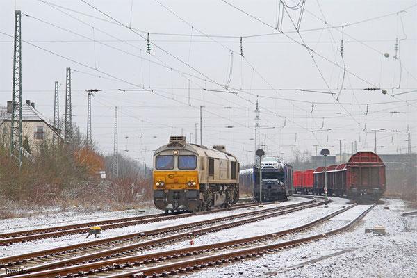 ECR 77 037 in Fürstenhausen am 20.01.15