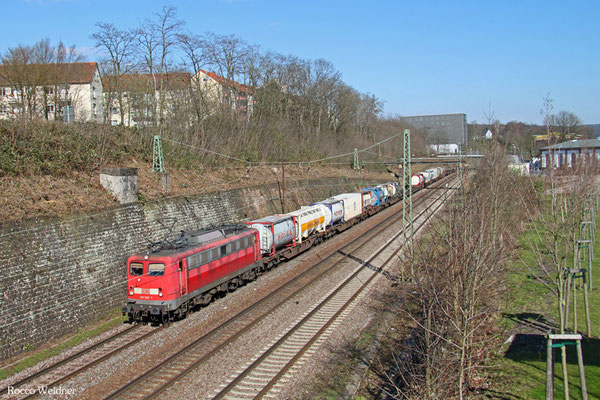 140 590 mit KT 98800 Saarbrücken Rbf West - Köln-Eifeltor Bez III (Sdl.KV, ex KT 42569), Saarbrücken 06.04.2015