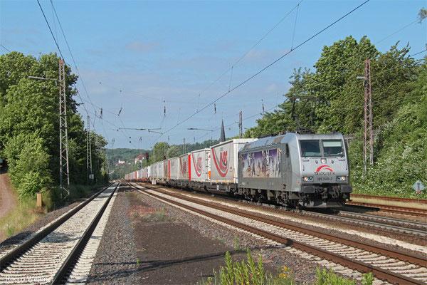 TXL 185 540 mit DGS 43513 Bettembourg/L - München-Laim Rbf , Dudweiler 10.06.2015