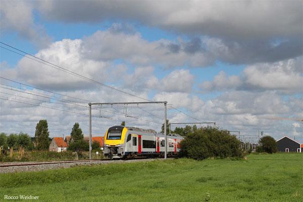 NMBS/SNCB 8192 als IC 1516 Knokke - Genk, , Duinbergen 01.09.2015