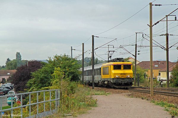 SNCF Infra BB22302 mit 999247 Thionville - Forbach, Forbach 25.09.2015