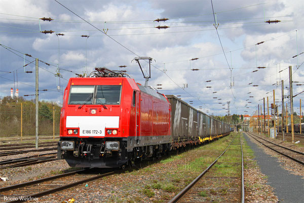 186 172 mit GA 49240 München Ost Rbf  - Forbach/F (Noisy-le-Sec), 15.04.2016)