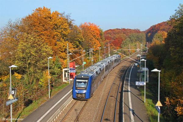 620 405 als RE 29518 Frankfurt/Main Hbf - Saarbrücken Hbf (Umleiter), Fischbach-Campausen 01.11.2015