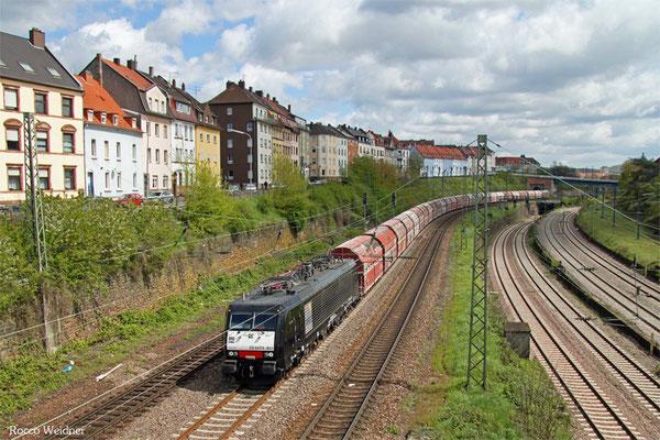 189 841 mit GM 60439 Auersmacher - Dillingen Zentralkokerei, Saarbrücken 26.04.2016