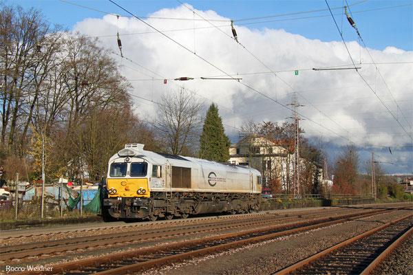 77 006 als T 67135 Neunkirchen(Saar) Hbf - Saarbrücken Rbf Nord (Sdl.), Landsweiler-Reden 21.11.2015