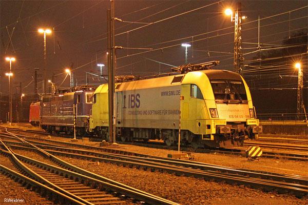182 596 (i.E.für DB Fernverkehr) am 21.01.15 in Saarbrücken