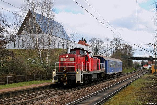 294 741 mit GC 62554 Bexbach - Neunkirchen(S) Hbf am 28.01.14 in NK-Wellesweiler (Sdl. leerer Begleiter Wg)