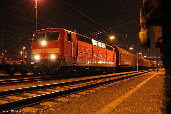 181 204 mit XP 50930 Forbach/F - Mannheim Rbf Gr. M (Sdl.Frachten), Mannheim Rbf 09.04.2015