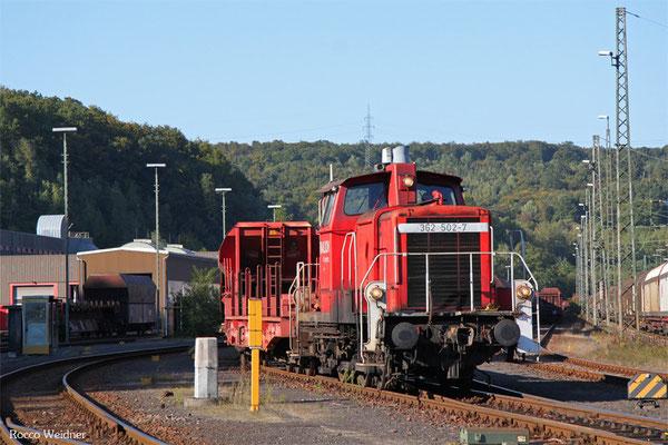 362 502 im Wagenwerk Saarbrücken, 01.10.2015