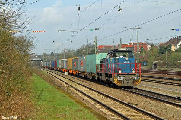 275 502 mit DGS 95261 Dillingen(Saar) Katzenschwänz - Homburg(Saar) Hbf, Saarbrücken-Burbach 06.04.2016