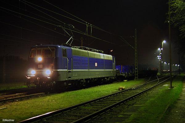 181 201 mit EK 55977 Völklingen Walzwerk - Neunkirchen(Saar) Hbf, 23.01.15