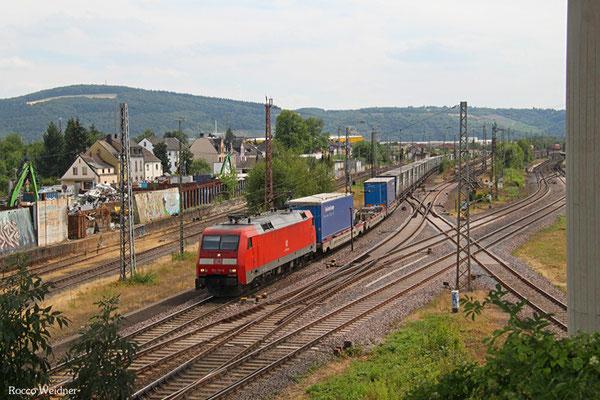 152 131 mit GA 52971 Dillingen(Saar) - Berlin-Lichterfelde West, Ehrang 24.07.2015