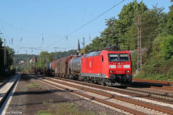 185 035 mit EZ 44241 Woippy/F - Mannheim Rbf Gr. M, Dudweiler 10.09.2015