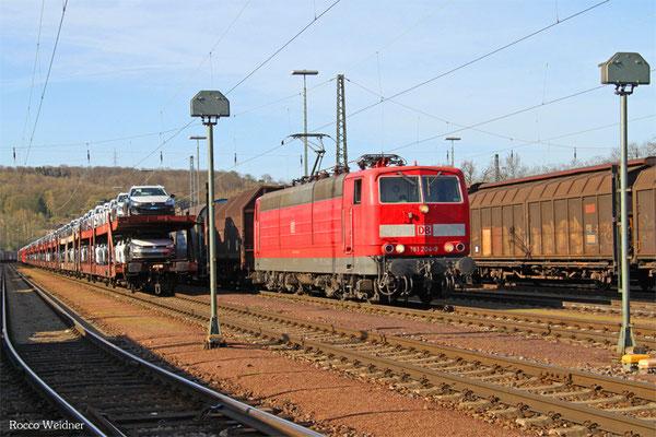181 204 mit EZ 47244 Einsiedlerhof - Forbach/F (Survilliers Foss) (EV, Survilliers Railport), Saarbrücken Rbf 12.04.2015