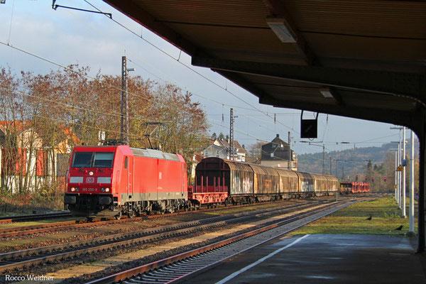 185 250 mit EZ 51904 Mannheim Rbf Gr.G - Saarbrücken Rbf Nord, Dudweiler 26.11.2015