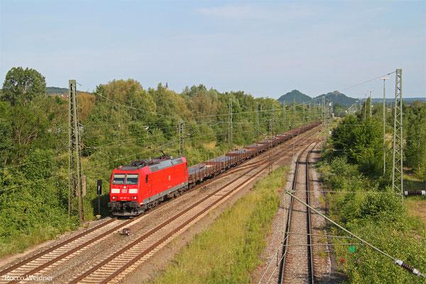 185 187 mit GM 60527 Kehl - Ehrang Nord, Bous(Saar) 07.06.2015