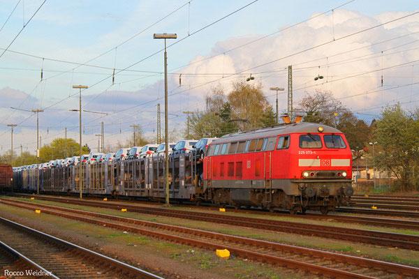 225 073 mit XP 49246 Einsiedlerhof - Forbach/F (Cerbère), 14.04.2016