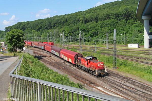 294 705 mit Leerwagen nach Burbach, Saarbrücken Rbf 12.06.2015