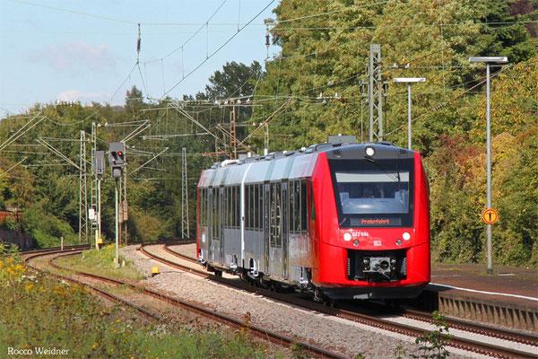 DB Regio 622 034 in Saarbrücken Ost am 29.09.2015