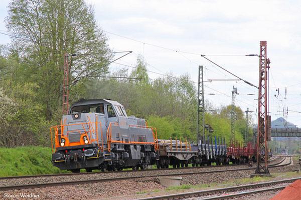 261 306 mit DGS 75908 Völklingen Walzwerk - Dillingen-Katzenschwänz (Sdl.), Bous 29.04.2016