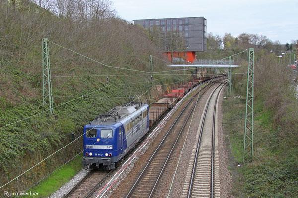 151 144 mit GM 60434 Saarbrücken Rbf West - Völklingen, 09.04.2016