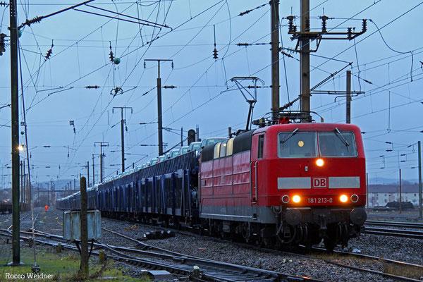 "181 213 ""Saar"" mit GA 49257 (Hendaye) Forbach/F - Mannheim Rbf Gr.K, 10.02.2016"