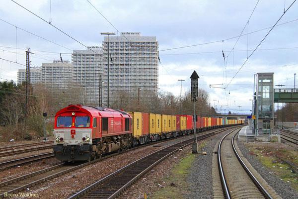 266 107 mit DGS 41540 Germersheim - Ludwigshafen-Oggersheim, 21.02.2016