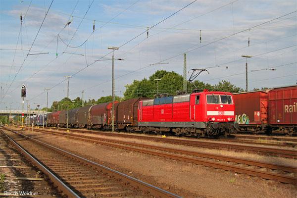 181 215 mit EZ 47248 Einsiedlerhof - Forbach/F (Survilliers Foss), Einsiedlerhof 16.06.2015