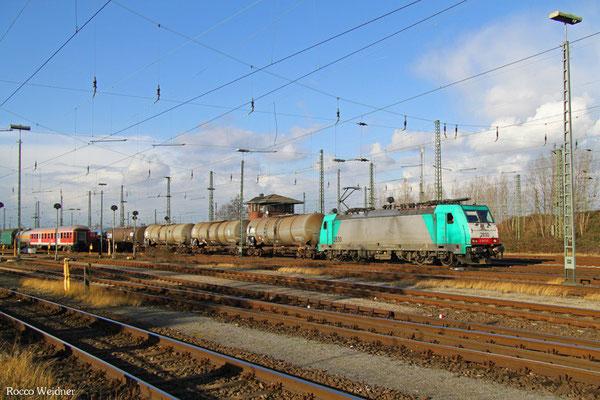 186 222 mit GC 47563 (Antwerpen-Noord) Aachen West Gr - Ludwigshafen BASF Gbf, Gremberg 03.02.2016