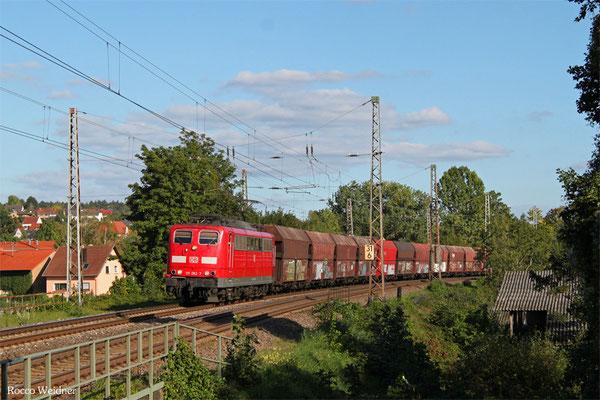 151 062 mit GM 48776 Dillingen Zentalkokerei - Oberhausen West Orm, Beckingen 27.09.2015